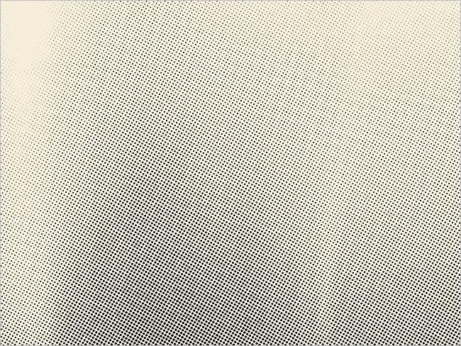 Halftone Screen Print Texture Design