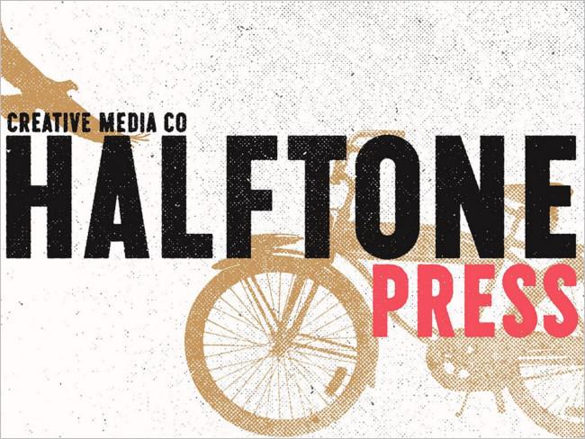 Halftron dot Texture Design