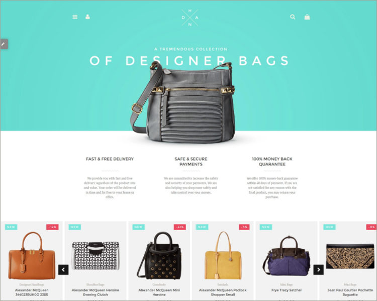 Handbag Boutique Shopify Theme