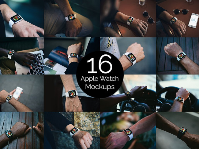 High-Quality Apple Watch Mockups