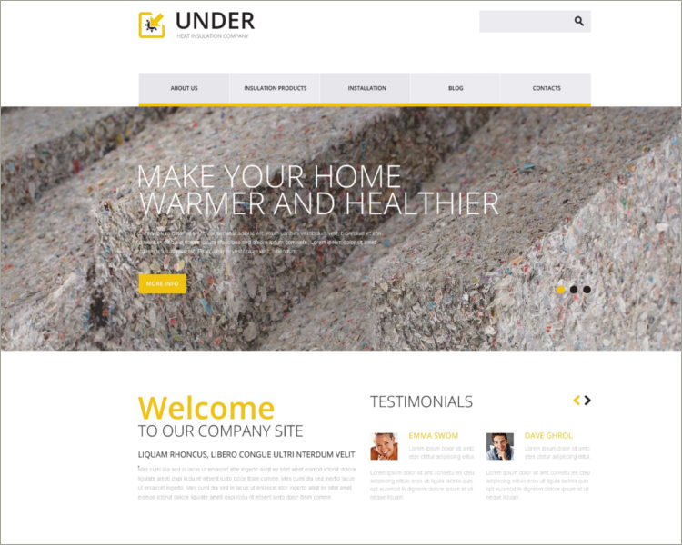 Home Remodeling Responsive Template
