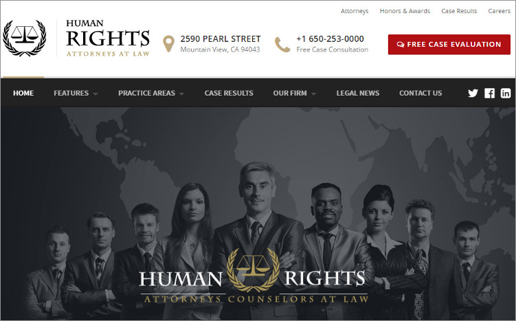 Humanrights WordPress Templates