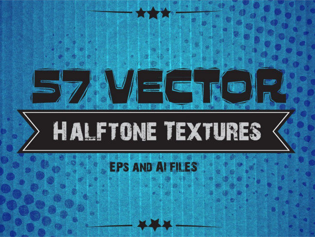 Illustrator Halftron Texture Design