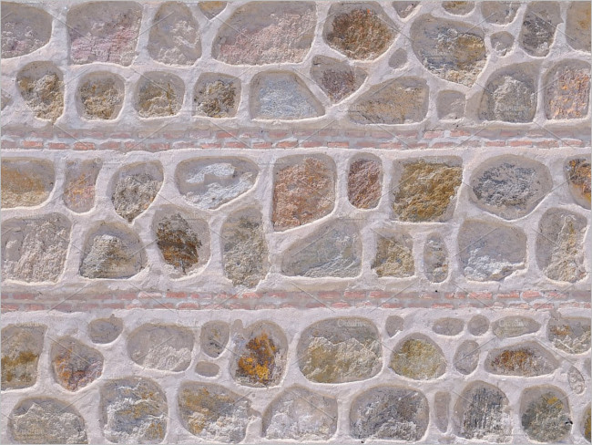 Illustrator Stone Wall Texture