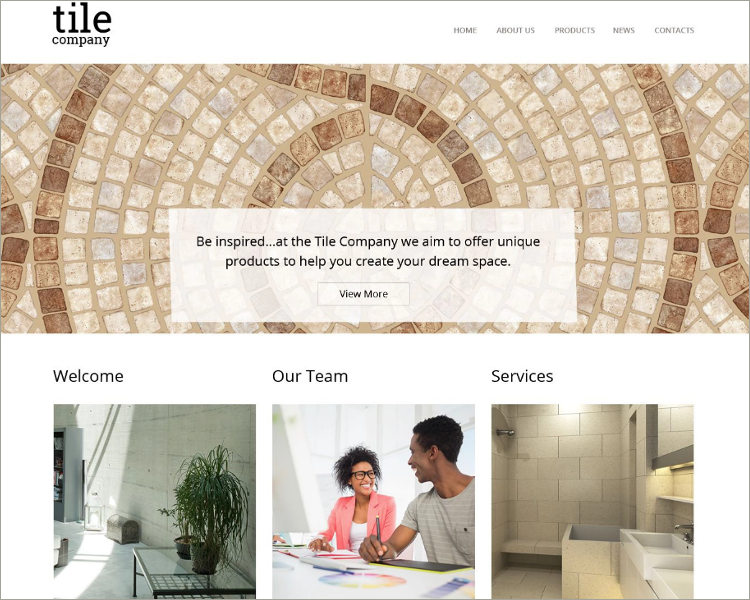 Interior Design Responsive Theme