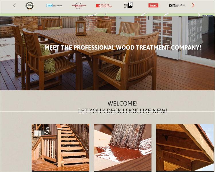 Interior Design Responsive Website theme & template