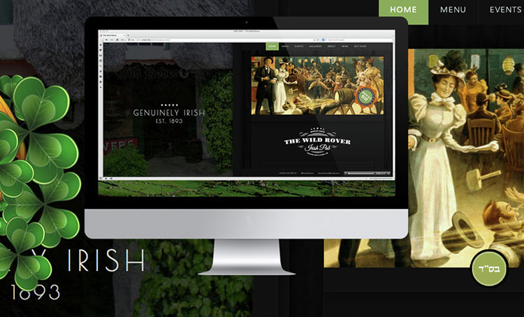 Irish Modern Pub WordPress Theme Templates