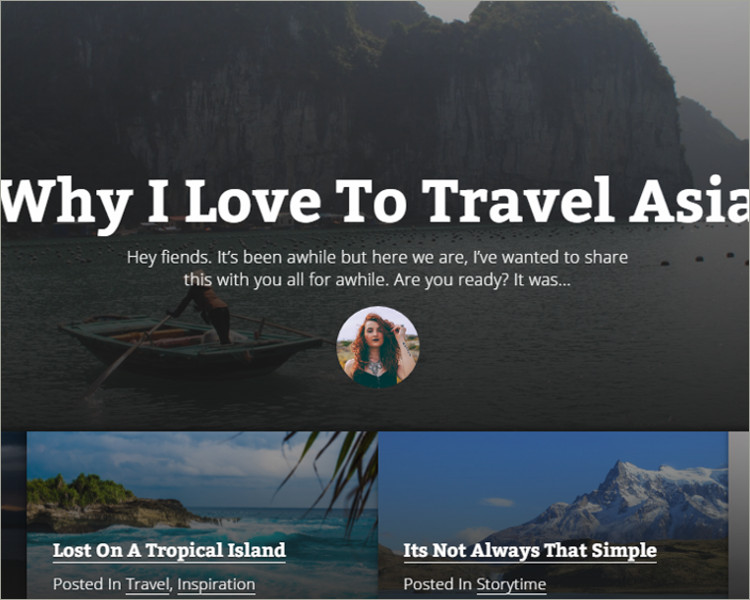 Jekyll Travel Blog theme