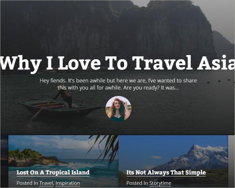 Jekyll Travel Blog theme