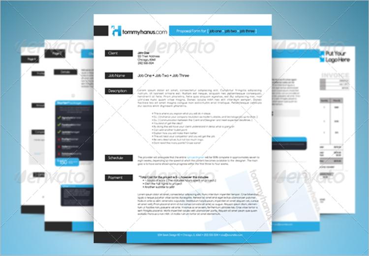 Job Proposal Template PDF