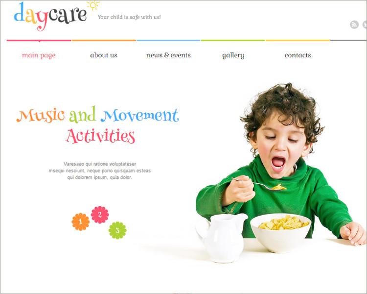 Kids Center Responsive WordPress Theme
