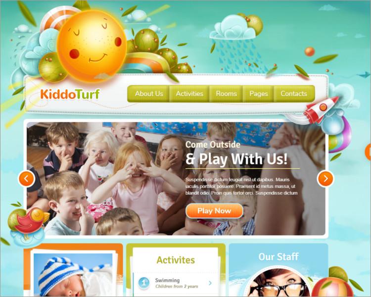 Kids WordPress Theme