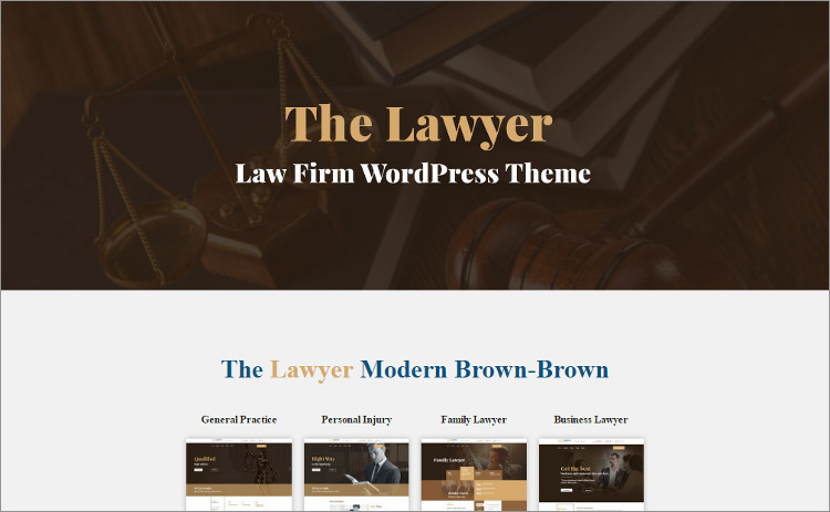 Lae Firm financing WordPress Theme