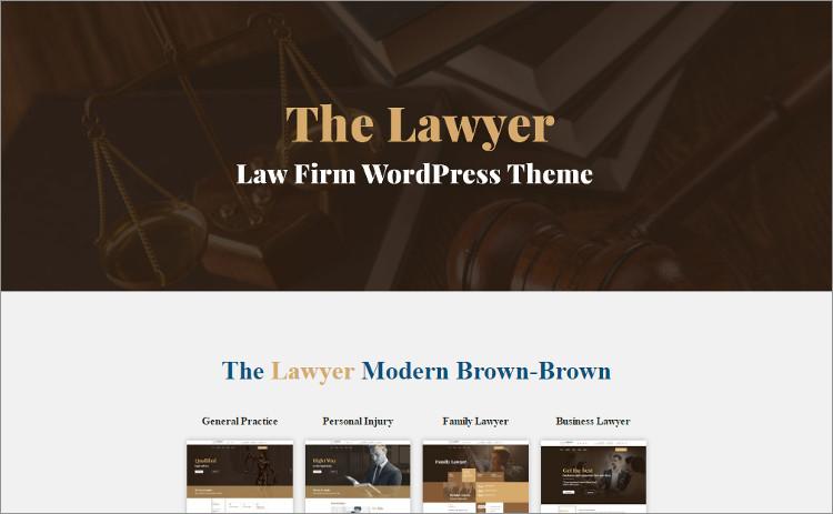 Lae Firm financing WordPress Theme