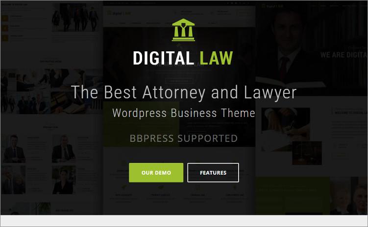 Law Firm Billing WordPress Templates