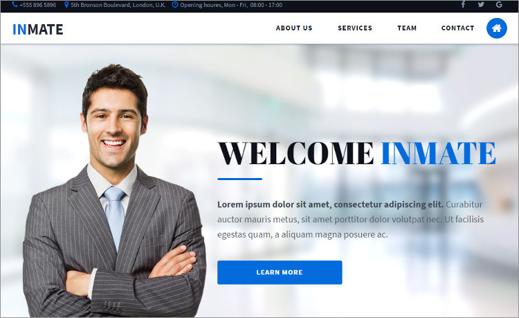 Law Firm Free WordPress Templates