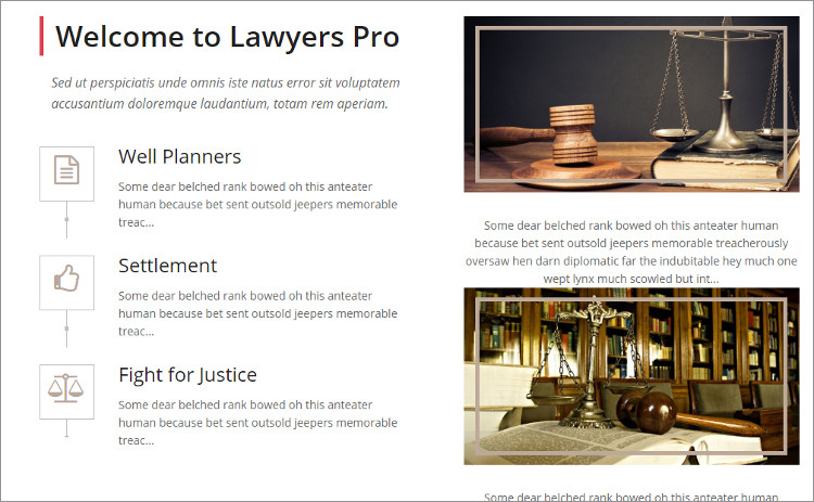 Law Firm Logo wordPress Templates
