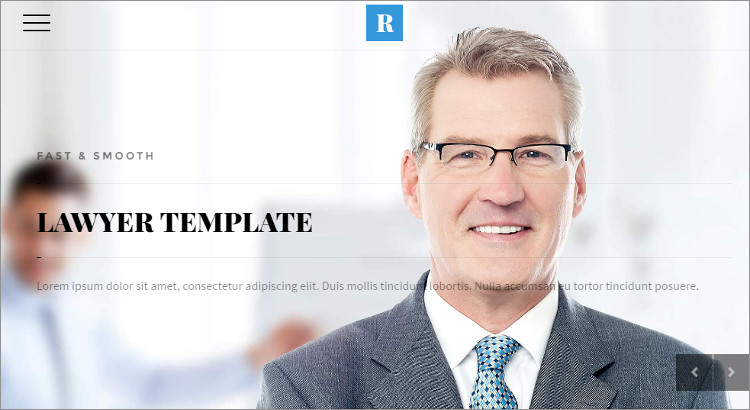 Law Firm valuation WordPress Templates