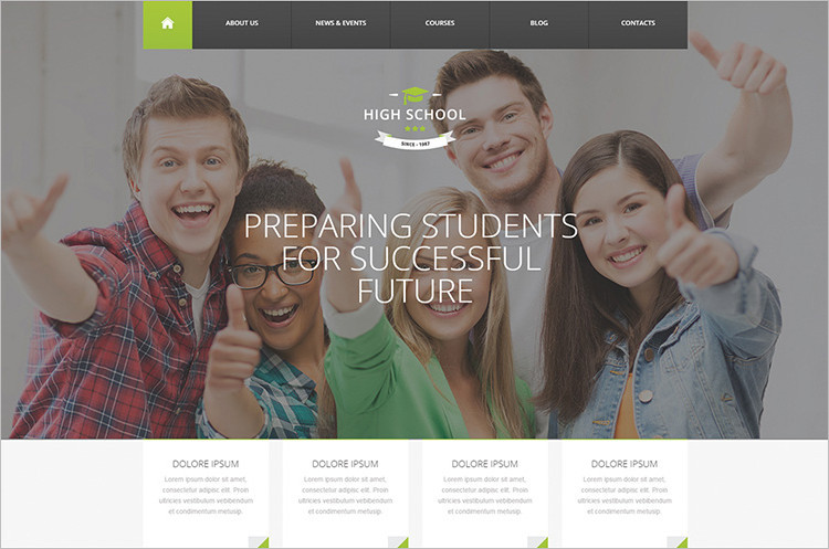 Learning Management System Wp Templates