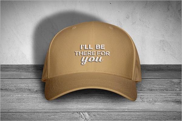 Leather Hat Cap Mockup