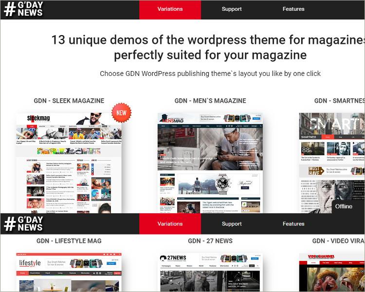 Magazine Word press Theme