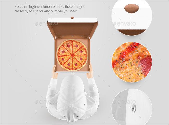 Meal Box Mockup Design