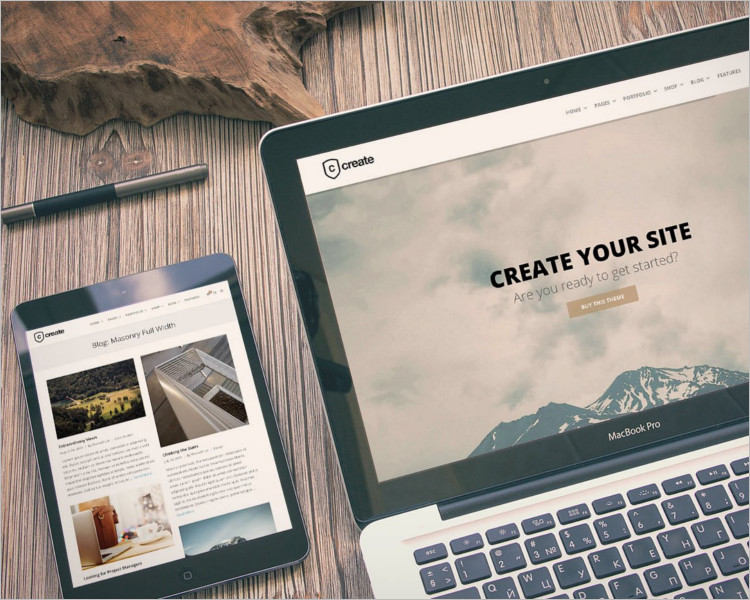 Multipurpose Single Page Website Template