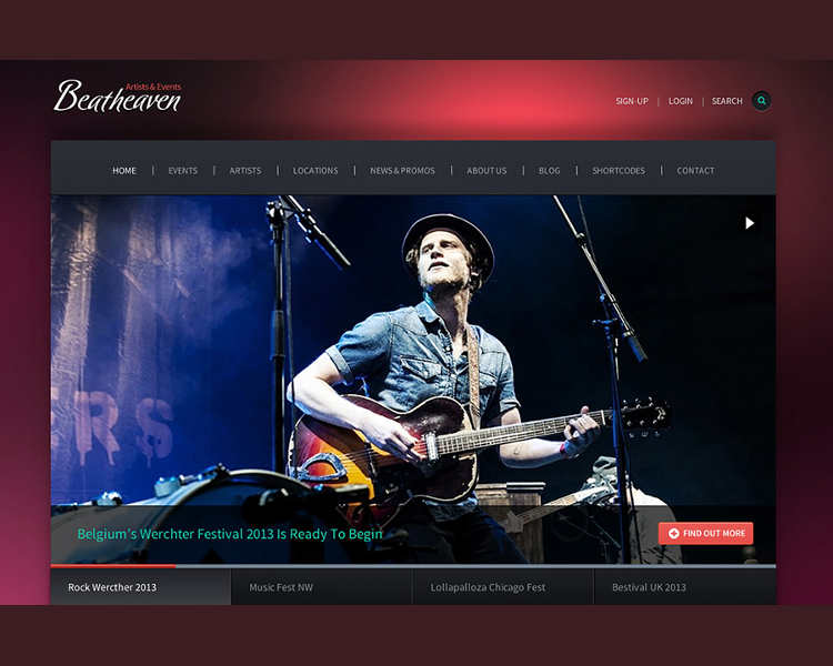 Music Maker WordPress Templates