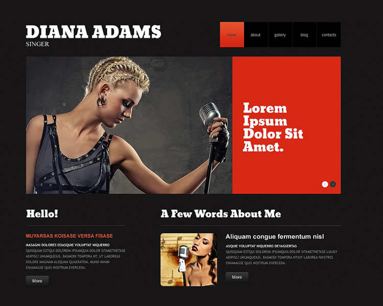 Music WordPress Plugin Template