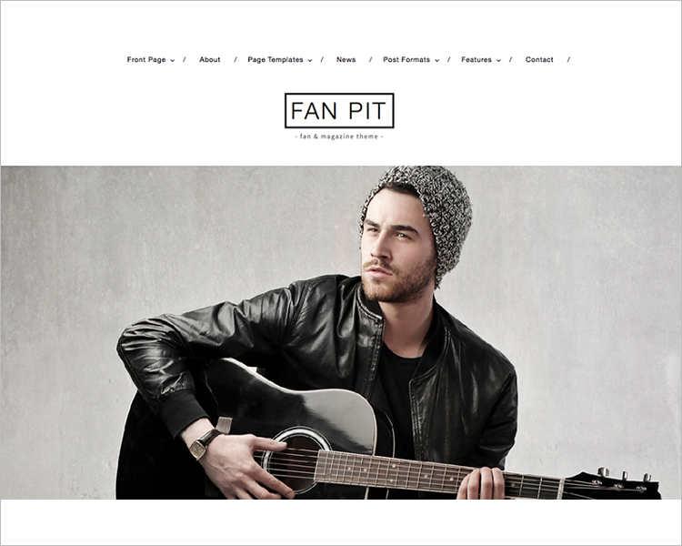 Music WordPress Premium Template