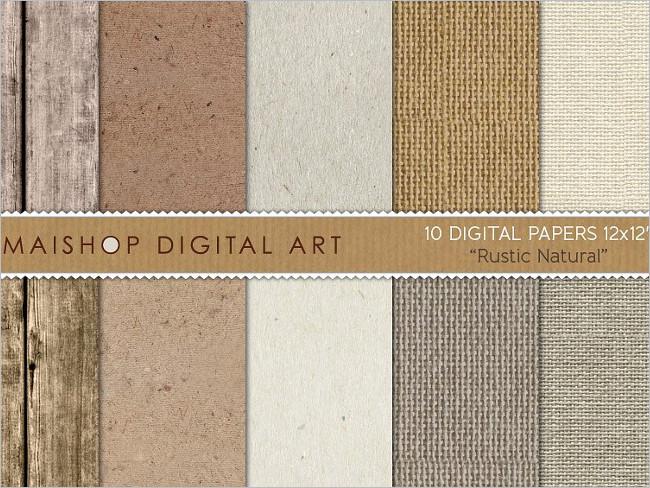 Natural Brow Paper Texture Design