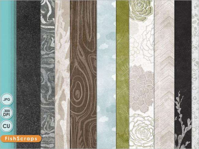Natural paper element Texture