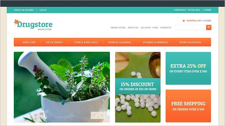 Nature Drug Joomla Templates