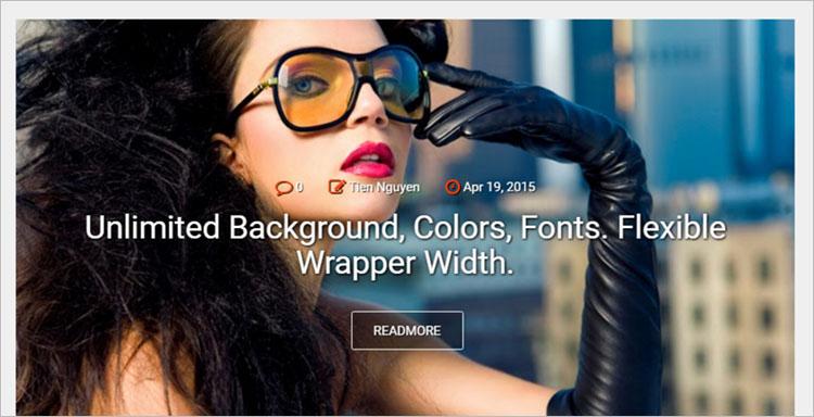 New Blue blogger templates