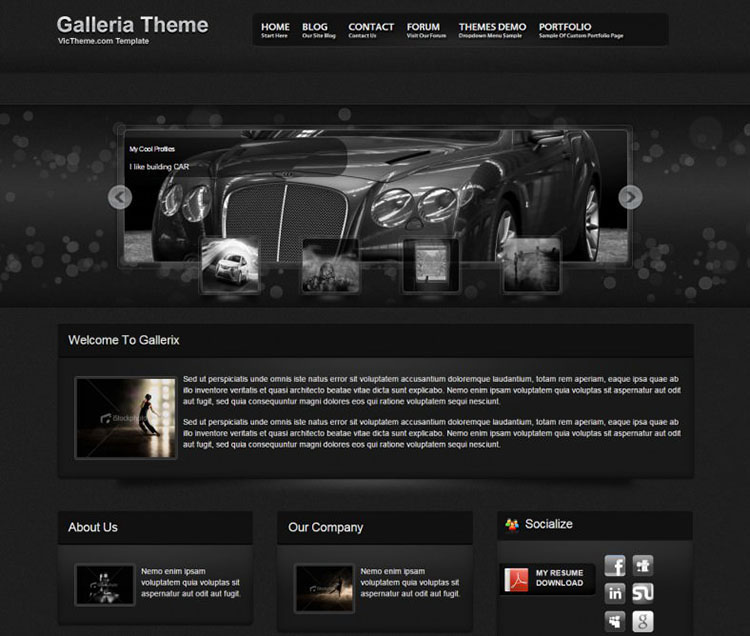 New drag & Drop Drupal templates