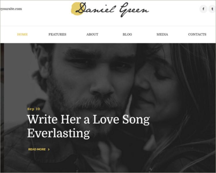 Online Copywriters WordPress Theme Templates