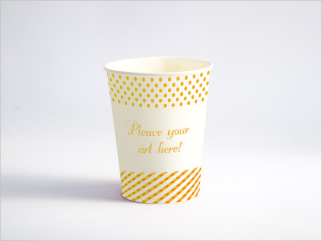 Paper Cup PSD MockUp Template