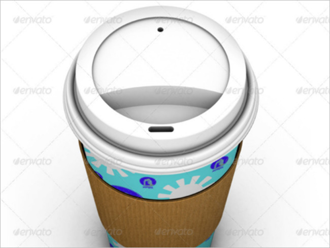 Paper Cups Mock Up