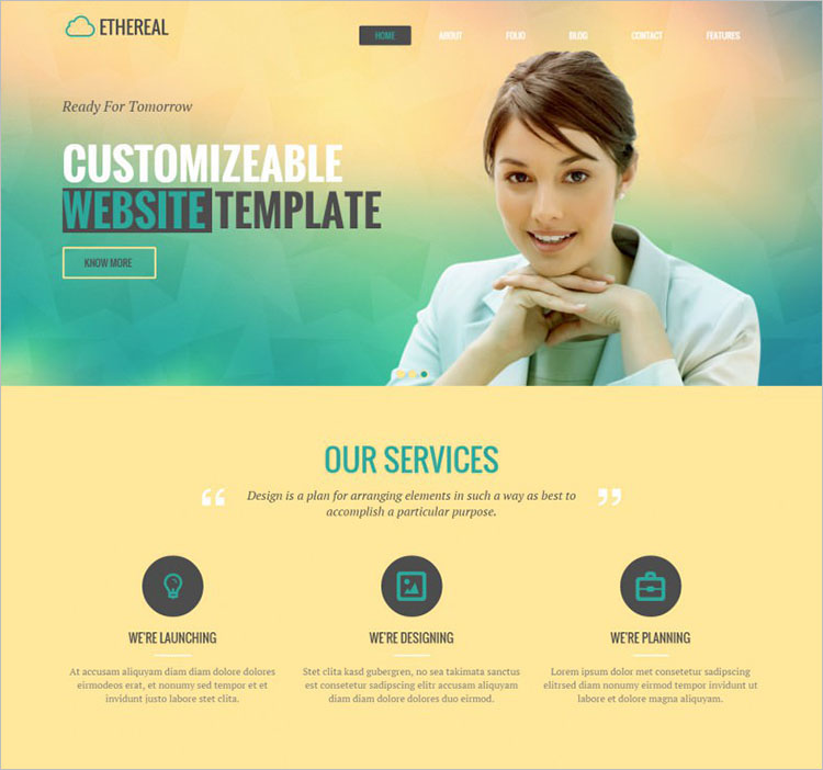 Parallax Drag & Drop Drupal Templates