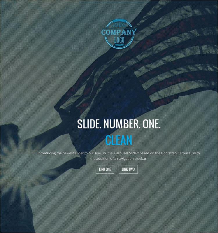 Patriotic Responsive WordPress Theme