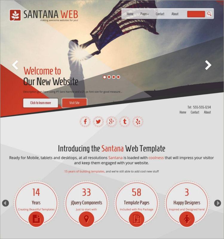 Patriotic WordPress Theme