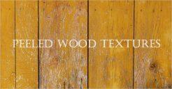 Peeled Wood Textures