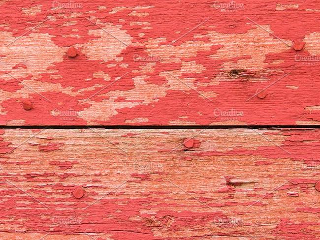 Peeled Wood Deck Texture