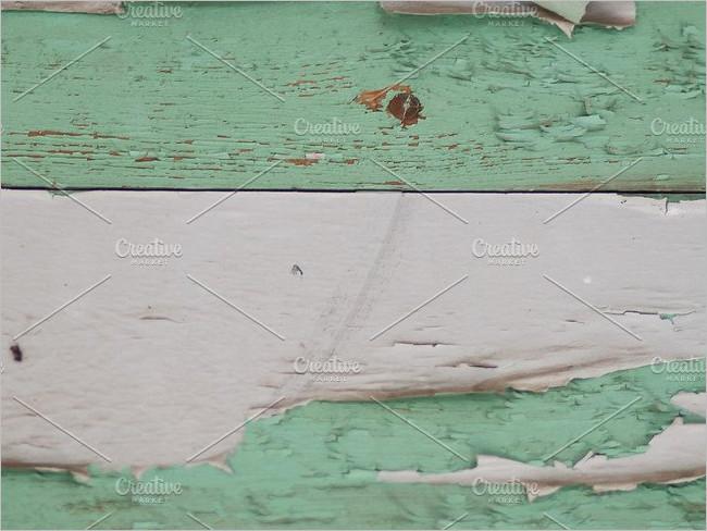 Peeled Wood Floor Texture