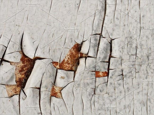 Peeled Wood Garage Texture