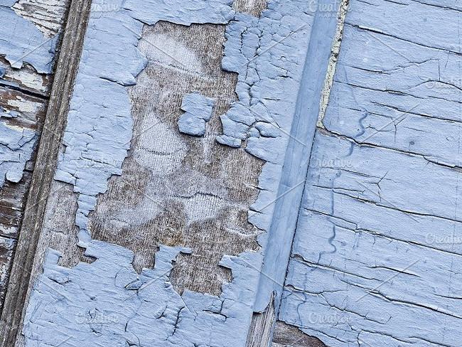 Peeled Wood Panels Texture