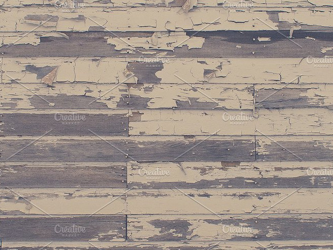 Peeled Wood Planks Texture