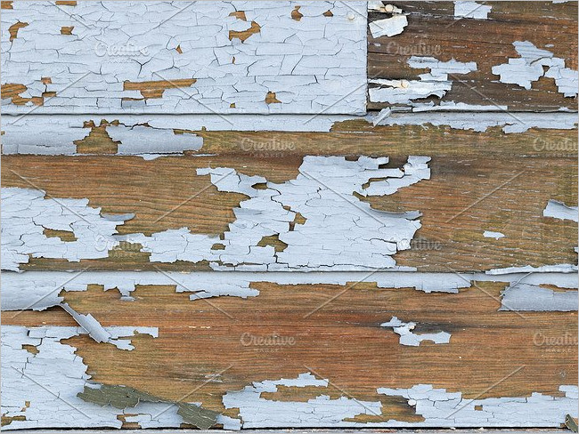 Peeled Wood Repair Texture