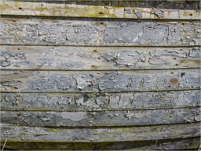 Peeling Wood Furniture Texture