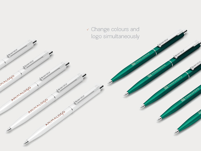 Pen Mockup Point PSD Free Download
